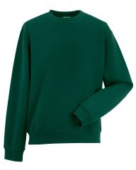 CAITHNESS RDA ADULT ROUND NECK SWEATSHIRT WITH EMBROIDERED LOGO